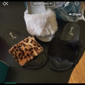 Other - Youth furry sandals